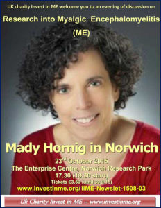 Dr Mady Hornig in Norwich